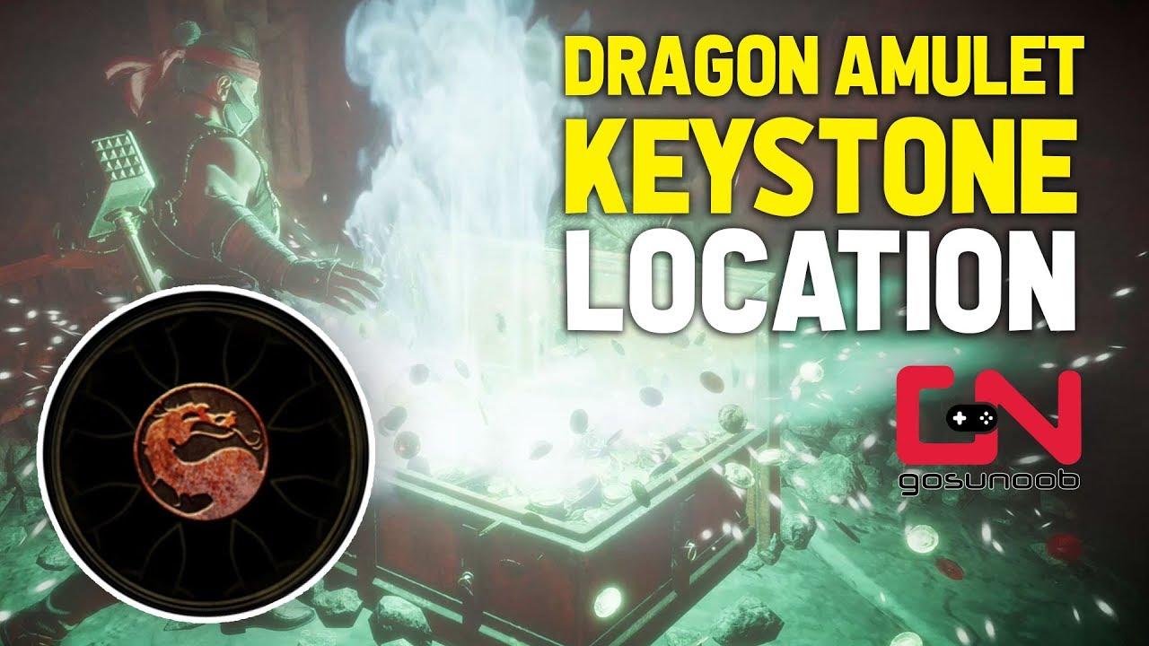 Mortal Kombat 11 - MK11 Dragon Amulet Keystone Location - Gamer4K