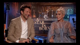 A STAR IS BORN Interviews: Lady Gaga, Bradley Cooper and Sam Elliott