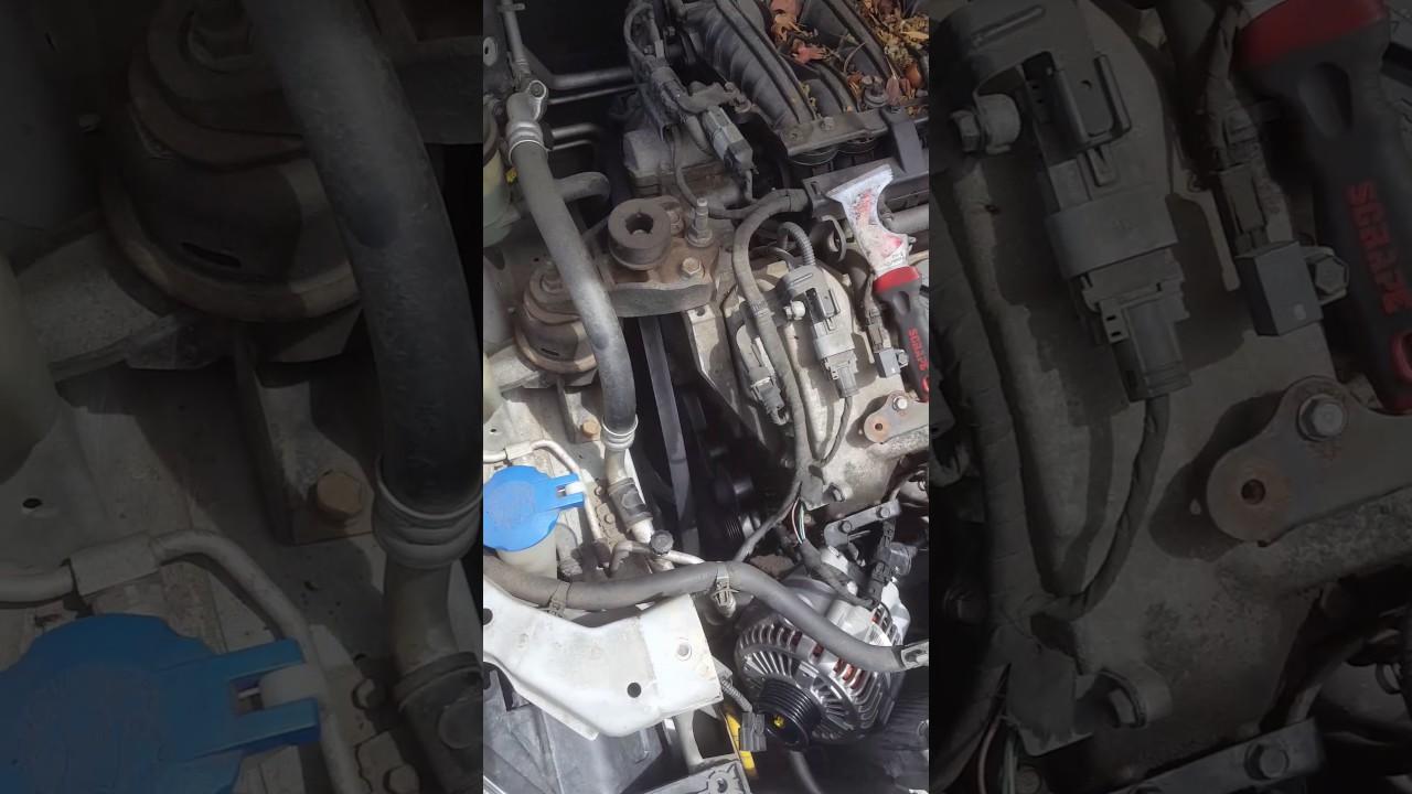 how to replace alternator on 2006 kia sedona youtube