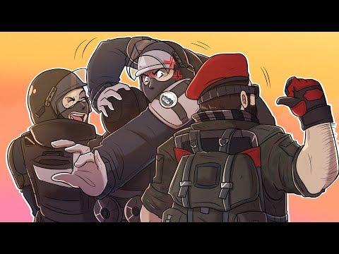 The WORST Teammates in Rainbow Six Siege