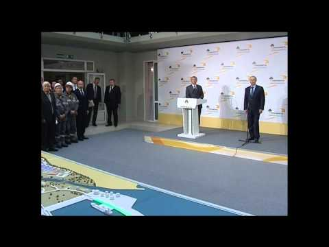 Putin supervises modernization of new Rosneft refinery