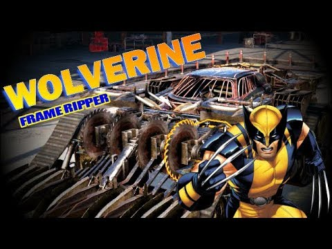 THE WOLVERINE RIPPING FRAMES OUT - crossout