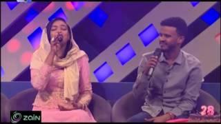 انت تأمر يا حبيبنا - ملاذ غازي وحسين الصادق - أغاني وأغاني -  رمضان 2017
