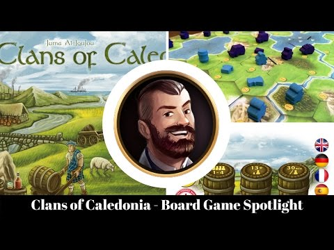 Clans of Caledonia - Board Game Spotlight