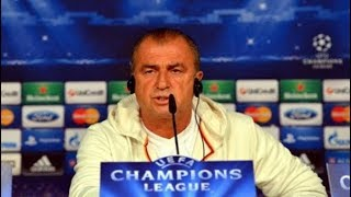 Fatih Terim, Porto maç öncesi basın toplantısı düzenledi