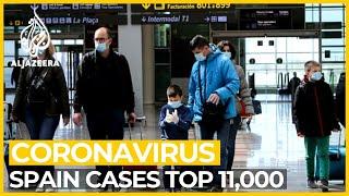 Spain coronavirus cases top 11,000