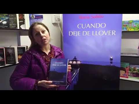 """María Soliño presenta en Verín su primera novela: """"Cuando deje de llover"""""""