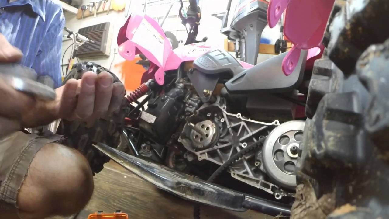 polaris 50 starter clutch starter not working repair [ 1280 x 720 Pixel ]