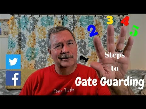 5 Steps To Start Gate Guarding, A Workamper's Story