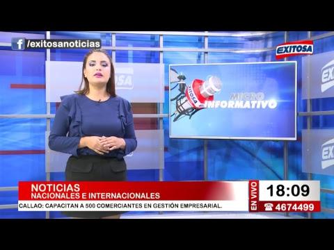 Exitosa Noticias 3 de agosto del 2017