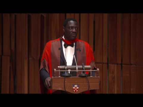 Graduation 2017: Honorary Graduate Adewale Akinnuoye-Agbaje
