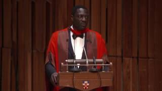 Graduation 2017 Honorary Graduate Adewale Akinnuoye-Agbaje
