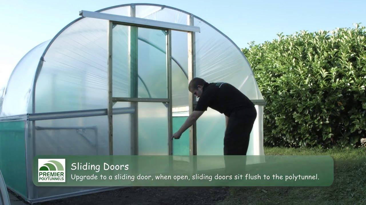 Doors for Polytunnels - Single Doors   Double Doors   Hinged Doors   Sliding Doors & Doors for Polytunnels - Single Doors   Double Doors   Hinged Doors ...