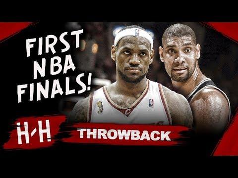 Throwback: LeBron James FIRST NBA Finals! Full Series Highlights Vs San Antonio Spurs | 2007 Finals