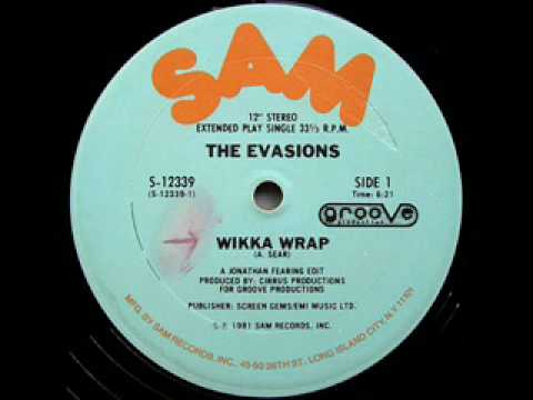 The Evasions - Wikka Wrap