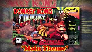 "Donkey Kong Country |SNES| 8 Hours of ""Main Theme"""