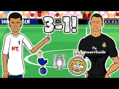 👋🏼SPURS BEAT REAL MADRID👋🏼(Champions League 2017 Tottenham vs Real Madrid 3-1)