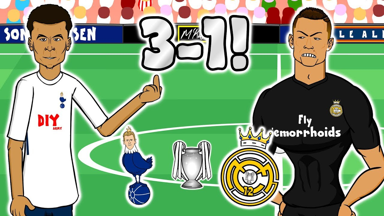 Download 👋🏼SPURS BEAT REAL MADRID👋🏼(Champions League 2017 Tottenham vs Real Madrid 3-1)