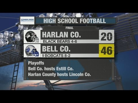 HIGHLIGHTS: No. 9 Bell County Vs. Harlan County