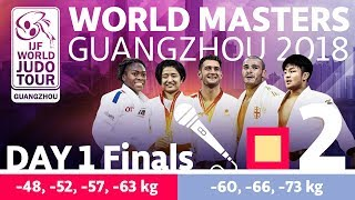 Judo World Masters 2018: Day 1 - Final Block