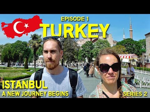 HELLO ISTANBUL!!! // A NEW JOURNEY BEGINS! // Hitchhiking in Turkey // EP 1
