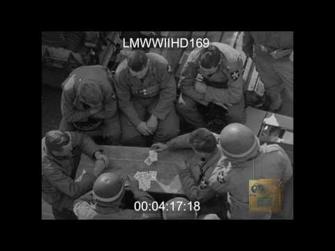INVASION OF FRANCE, INVASION FLEET IN CHANNEL, COLEVILLE, CIVILIANS - ON SHIP OFF COAS - LMWWIIHD169