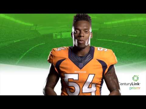 CenturyLink partners with Denver Broncos Linebacker Brandon Marshall HD