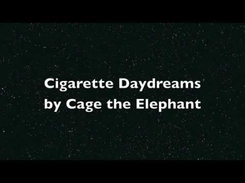 Cigarette Daydream by Cage the Elephant...