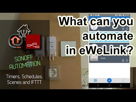 What can you automate with eWeLink / Sonoff - YouTube