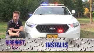 2015 Ford Interceptor Sedan Patrol Vehicle Installation