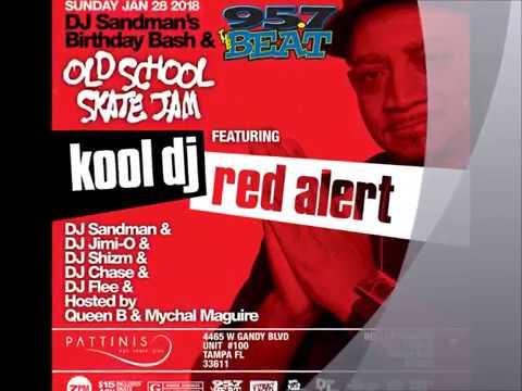 DJ Sandman Birthday-Old School Skate Jam 2018 W/ Kool Dj Red Alert