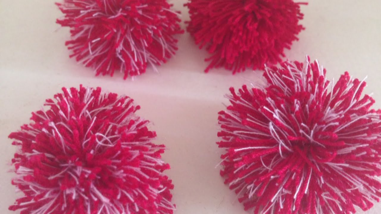 Make cute and easy mini pom poms diy crafts for Cute pom pom crafts