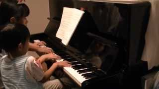 A Japanese nursery rhyme medley, piano trio with my 11-year-old and...