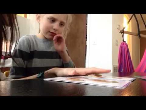 Sitter Karly doing Lena homeschool