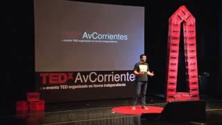 Que hacemos con lo que creemos ser: Francisco Chaves at TEDxAvCorrientes 2013