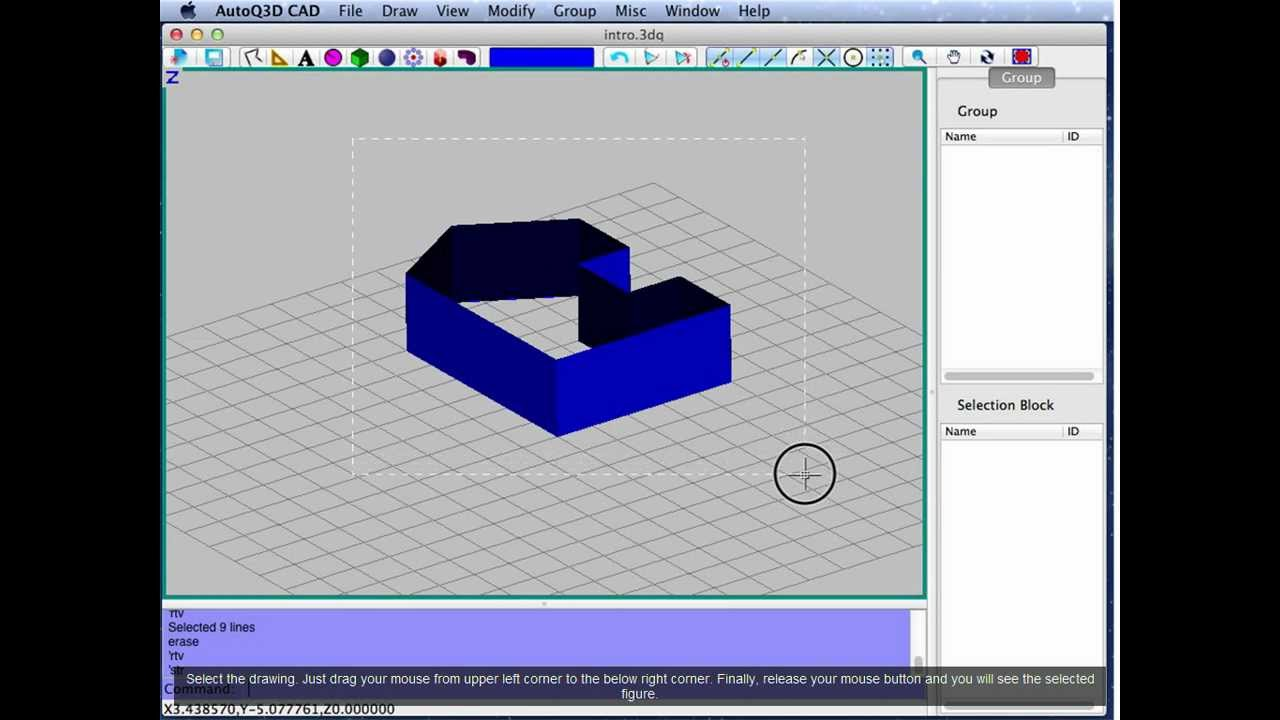 Introduction to 3D CAD on a Mac