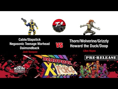 T3 - Deadpool & X-Force Pre-Release 300 Pt Sealed 3 [HeroClix Game]