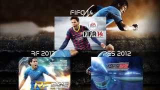 Fifa 14 vs PES 2012 vs RF 2013 - Descubra qual o melhor jogo de futebol para Android