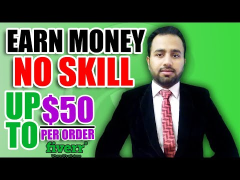 How To Make Money on Fiverr Without Skills | Up to $50 Per Order | Skill For Success