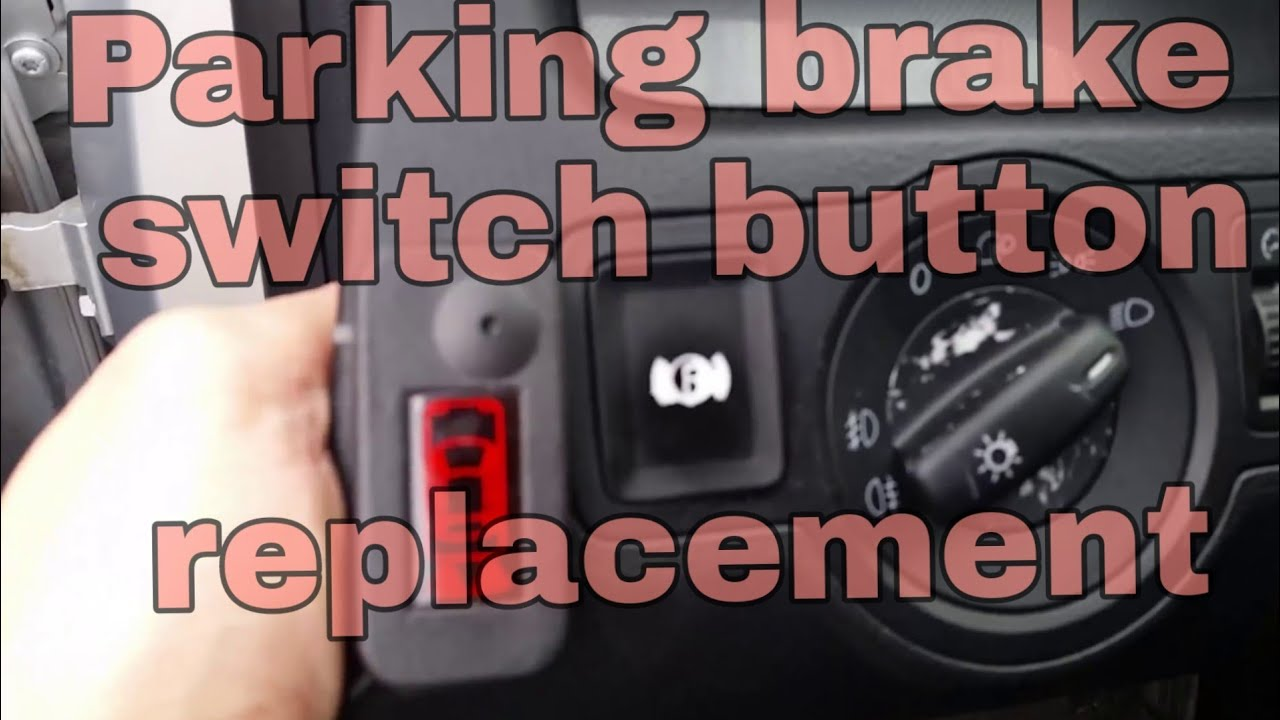 vw passat b6 parking brake switch button replacement 4 from ebay youtube. Black Bedroom Furniture Sets. Home Design Ideas