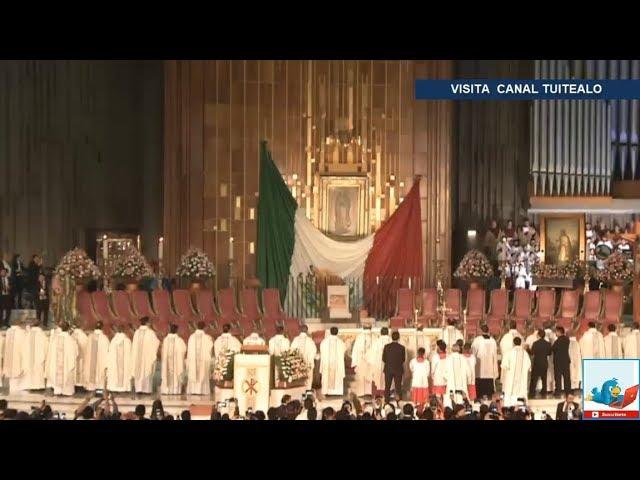 Mañanitas a la Virgen de Guadalupe EN VIVO Video Basílica de Guadalupe 2018