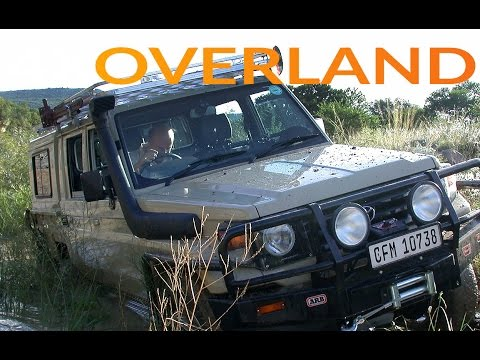 4x4 driving skills, build a truck, overland expedition. 4WD1, Ep1