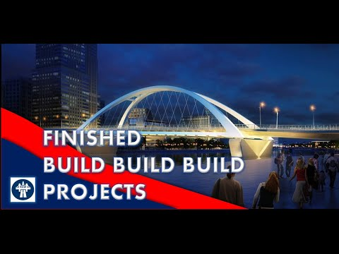 FINISHED BUILD BUILD BUILD PROJECTS AS OF MAY 2020