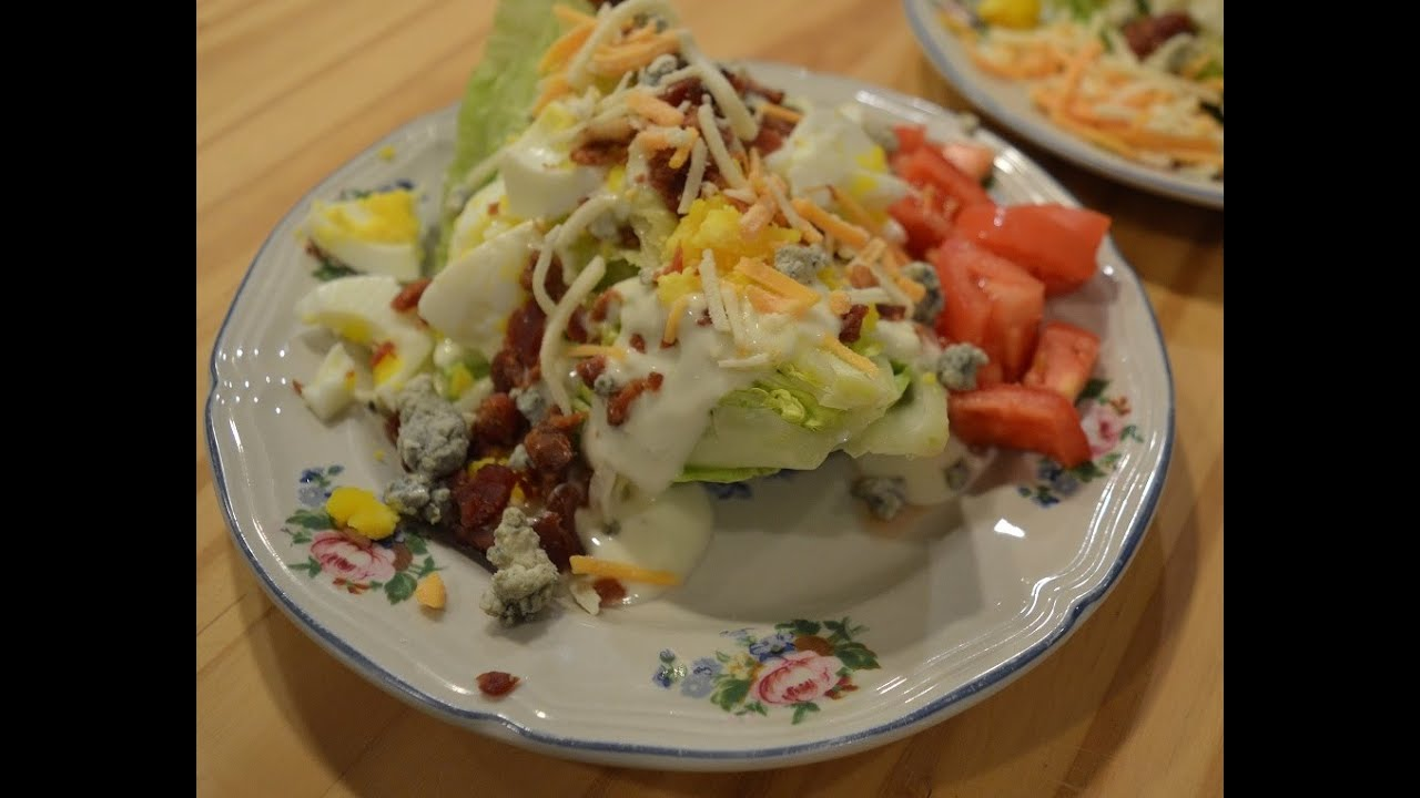 Bacon U0026 Bleu Cheese Wedge Salad   The Hillbilly Kitchen   YouTube