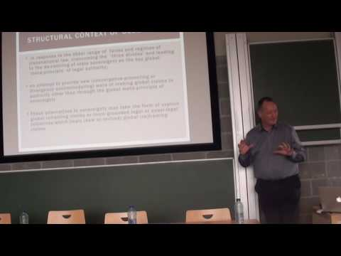 Neil Walker: Intimations of Global Law Brussels Global Law Week Part 1