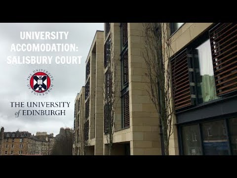EDINBURGH UNIVERSITY ROOM TOUR: SALISBURY COURT | HADDY JENG