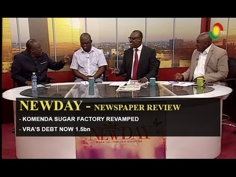 NewDay - Komenda Sugar factory revamped - 31/5/2016
