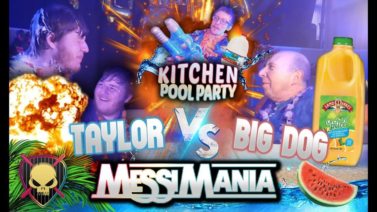 Messi Mania: Kitchen Pool Party