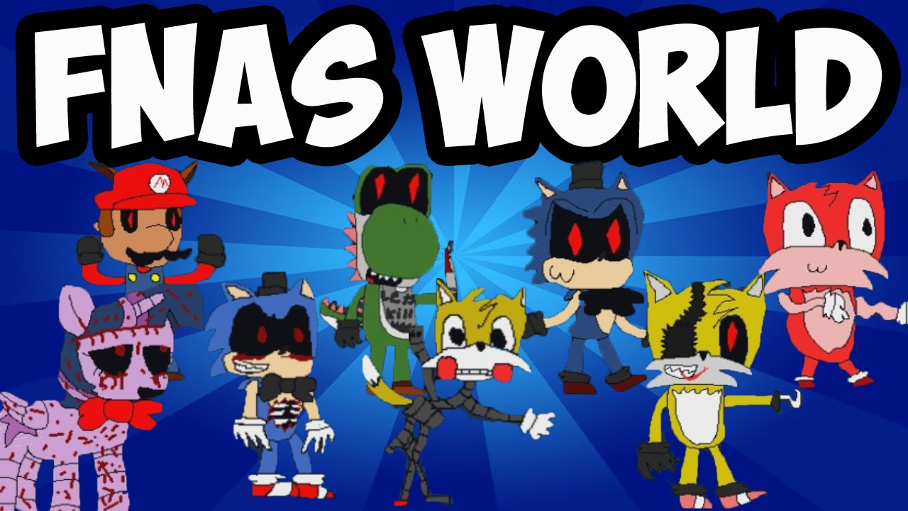 Download FNAS WORLD Ep.4   NEW CHARACTERS DISCOVERED   FIVE NIGHTS AT SONIC'S WORLD