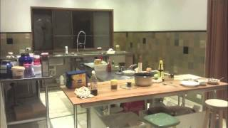 Commercial Layout In The Home Kitchen